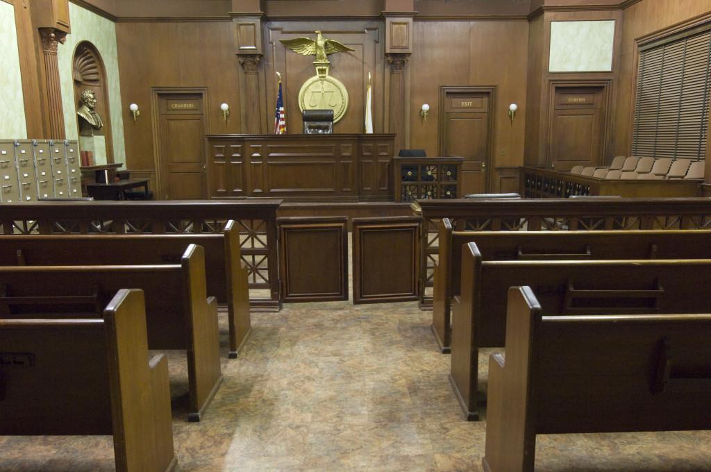 divorce attorney sc in courtroom