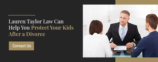Protect your kids after a divorce